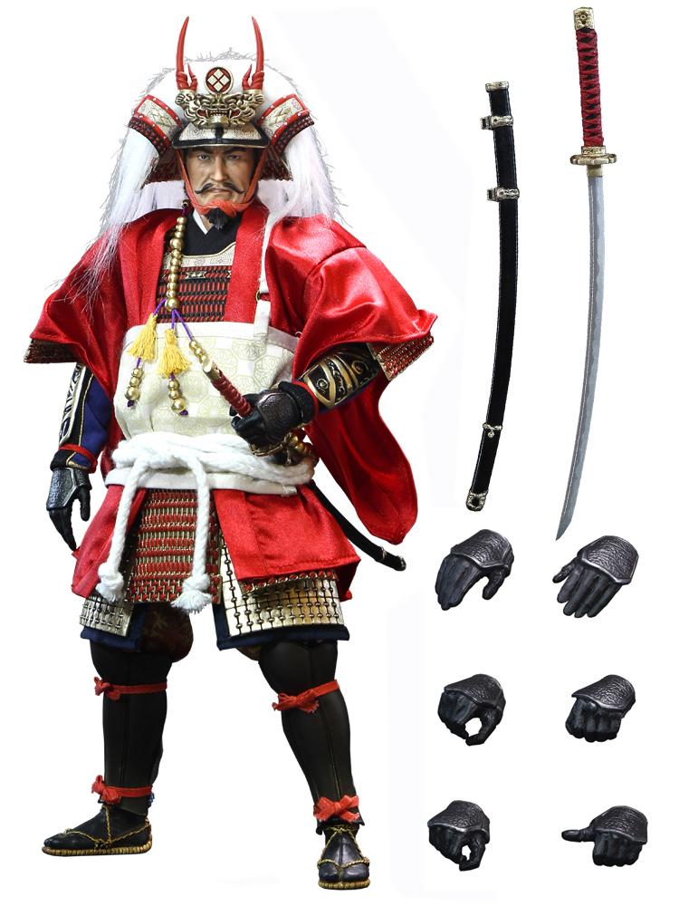 ACI Toys 1/6 TAKEDA SHINGEN Suwahara Hiroyukis Daimyo Series Deluxe Version (ACI-32SP