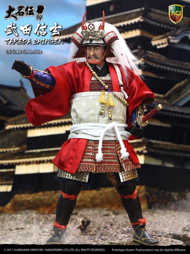 ACI Toys 1/6 TAKEDA SHINGEN Suwahara Hiroyukis Daimyo Series (ACI-32) | 株式会社